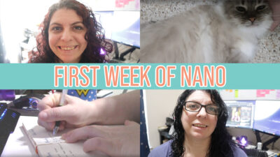 How my first week of NaNo went